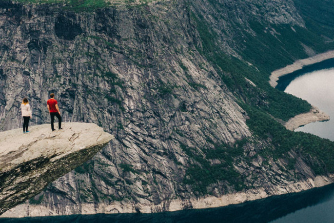 Wandern Skandinavien Norwegen
