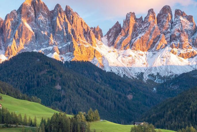 Wandern in Südtirol Italien