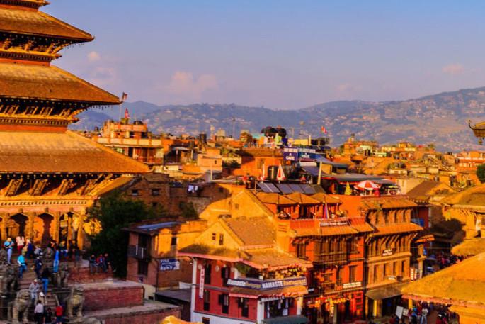 Wandern bei Nepal Nepal