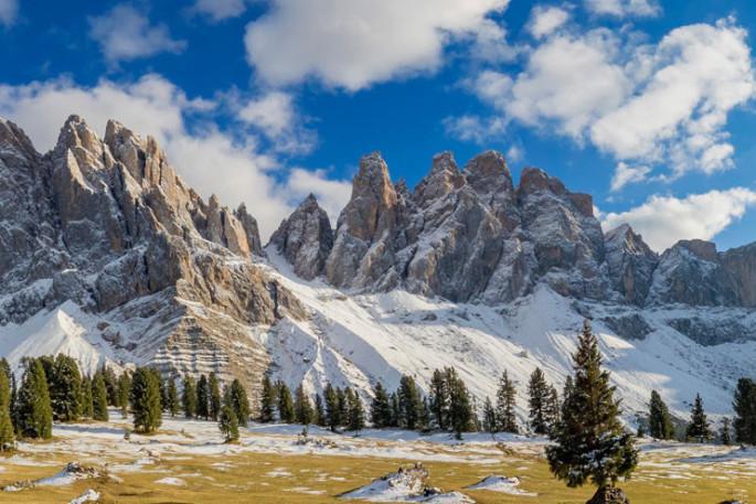 Wandern in den Dolomiten Italien
