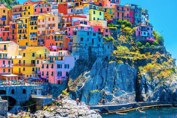 Wandern Cinque Terre Italien