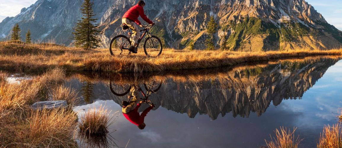 Mit dem Fahrrad durch die Alpen Deutschland