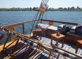 Auf dem Segelschiff Ankh