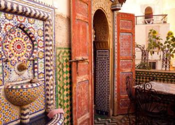 Mosaik in Fes
