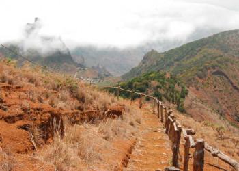 Wanderweg auf São Nicolau