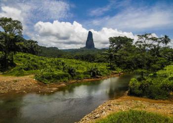 Blick auf den Pico Cao Grande
