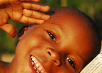 Kind auf São Tomé