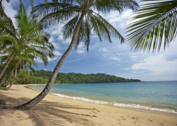 Strand auf Príncipe