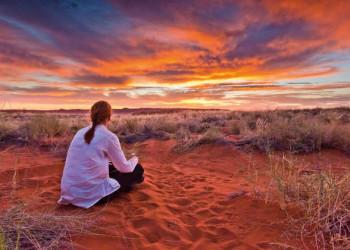 Namib Wüste Sonnenuntergang