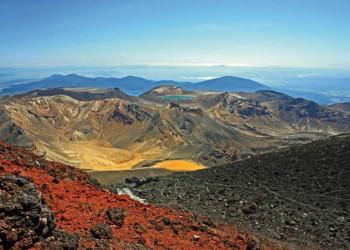 Auf dem Ngauruhoe im Tongariro NP
