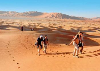 Wüstenwanderung in der Rub Al Khali