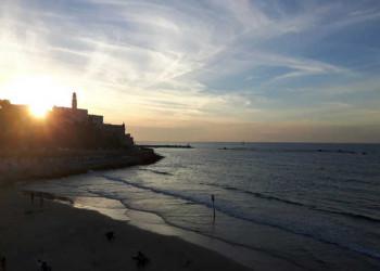 Sonnenuntergang, Jaffa, Tel Aviv