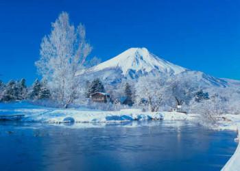 Wintermärchen am Fuji