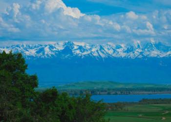 Am Issy Kul See in Kirgisistan