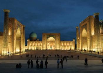 Abendstimmung in Samarkand