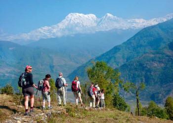 Am Annapurna Massiv