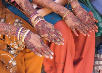 indische Handmalkunst