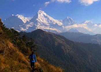 Blick auf Annapurna