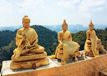 Schrein im Tigertempel Wat Tham Suea