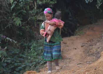 Hmong Dorf bei Bac Ha