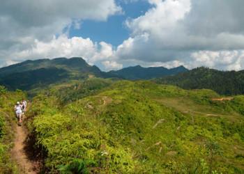 Wanderung bei Bac Ha