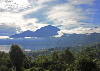 Morgenstimmung am Batur See