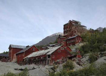 Alte Minenstadt im Wrangell