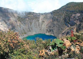 Der Kratersee Irazú