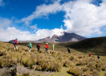 Wanderung am Chimborazo