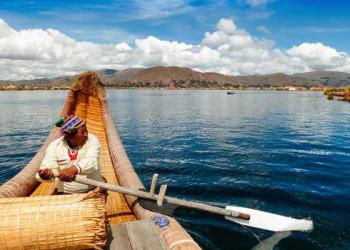 Bootstour mit den Uros auf dem Titicacasee