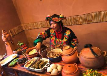 Traditionelles Mittagessen auf Taquile