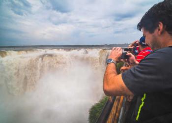 Am Teufelsschlund der Iguazú