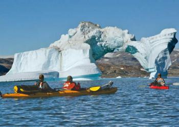 Eisberg in der Kong Oscar Bucht nahe Tasiilaq
