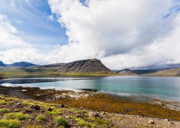 Farbenprächtige Fjordlandschaft