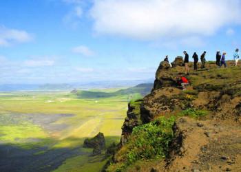 Weitblick über Island