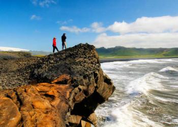 Küstenlandschaft Islands