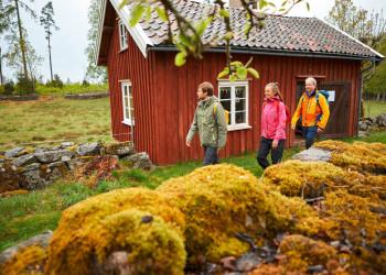 Die Idylle Schwedens zu Fuß erkunden