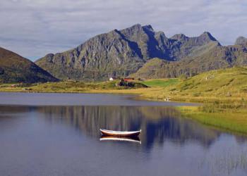 Seenidylle auf den Lofoten
