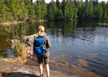 Wandern im Saimaa