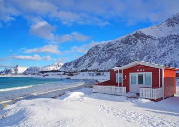 Winterimpressionen von den Lofoten