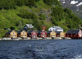 Fischerhütten in Lauklines