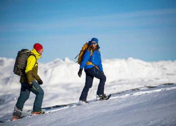Schneeschuhwandern in der Region Valdres