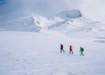 Auf Schneeschuhen durch den Rondane