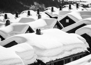 Verschneites Myrkdalen