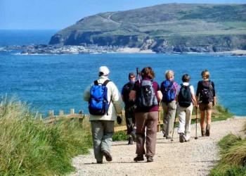 Küstenwanderung in Cornwall