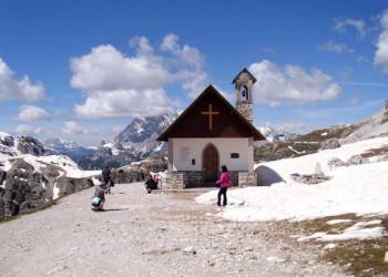 Drei Zinnen Rundwanderung hinter Auronzo Hütte