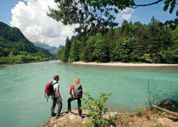 Am Ufer des Lech