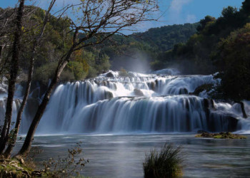 Welt der Wasserfälle