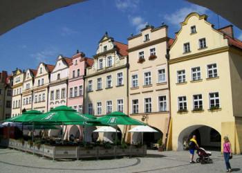 Marktplatz in Hirschberg