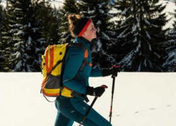Aktiv im Schnee